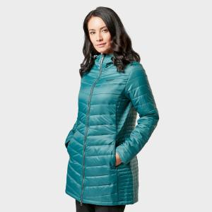 Regatta Women's Beaudine Long Baffle Jacket - Grn$/Grn$, GRN$/GRN$