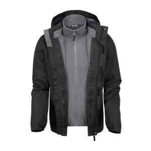 Freedomtrail Versatile 3 In 1 Jacket - Black/M, Black/M