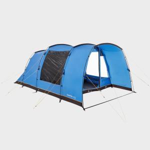 HI-GEAR Hampton 4 Nightfall Family Tent, Blue/IGO