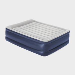 HI-GEAR High Rise Flock King Size Airbed, Navy/NVY