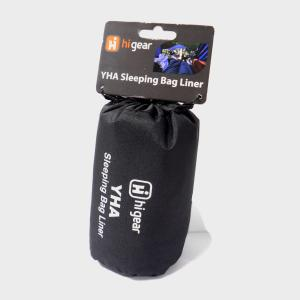 HI-GEAR YHA Sleeping Bag Liner, BLACK/LINER