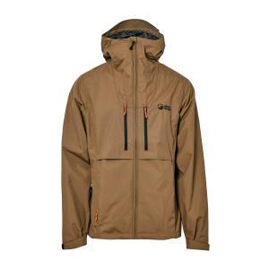 North Ridge Men's Shoalwater Waterproof Jacket - Brown/Khaki, Brown/Khaki