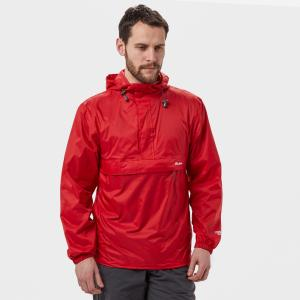 Peter Storm Men's Packable Cagoule - Red, Red