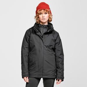 Peter Storm Women's Lakeside 3 In 1 Jacket - Black/Blk, Black/BLK
