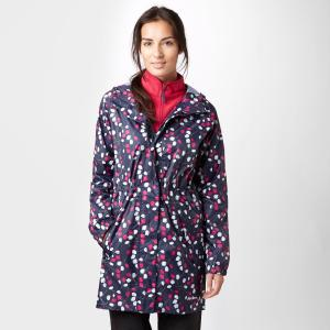 Peter Storm Women's Parka In A Pack Jacket - Multi/Nvy, Multi/NVY