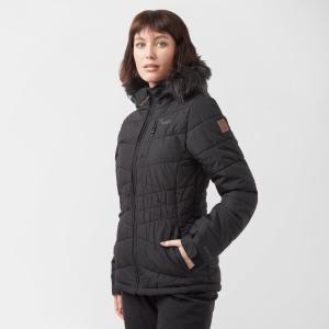 Protest Women's Valdez Snow Jacket - Blk/Blk, BLK/BLK