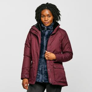 Regatta Women's Loretta Waterproof Insulated Jacket - Red/Burg, Red/BURG