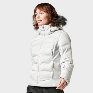 Salomon Women's Stormcozy Ski Jacket - Wht/Wht, WHT/WHT