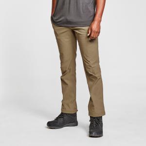 Brasher Men's Stretch Walking Trousers - Khaki/Khk, Khaki