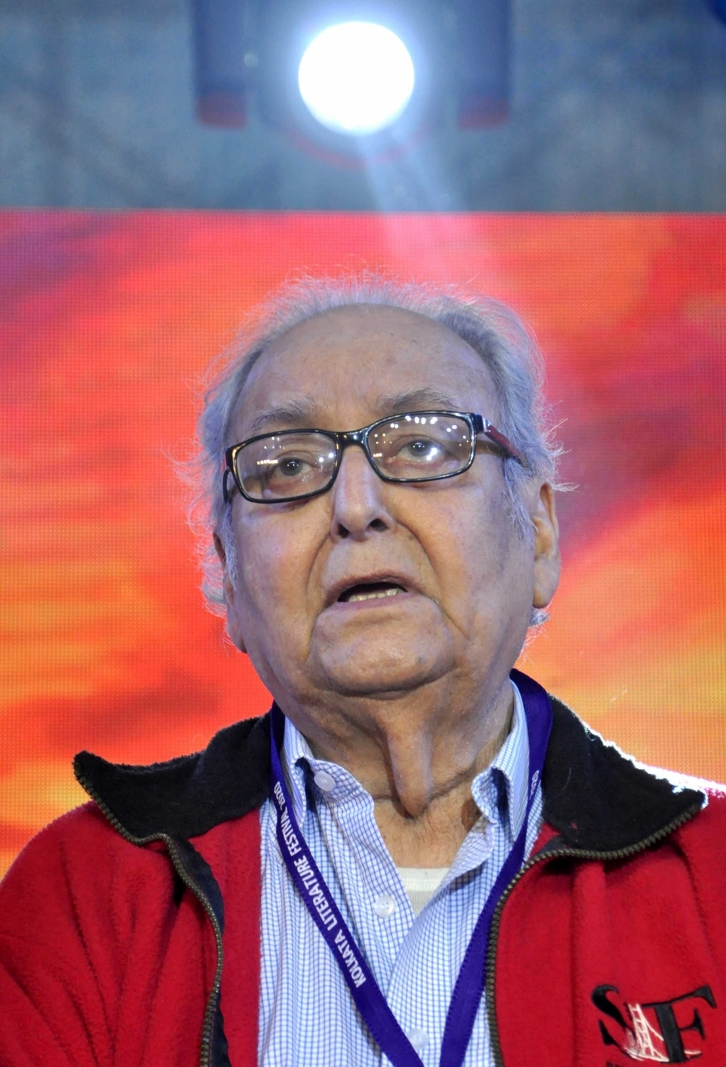 Soumitra Chatterjee. (File Photo: IANS)