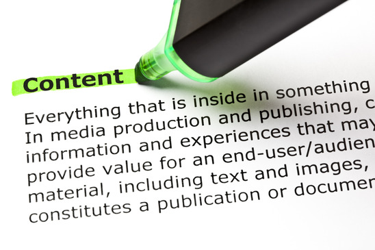 What is content?
