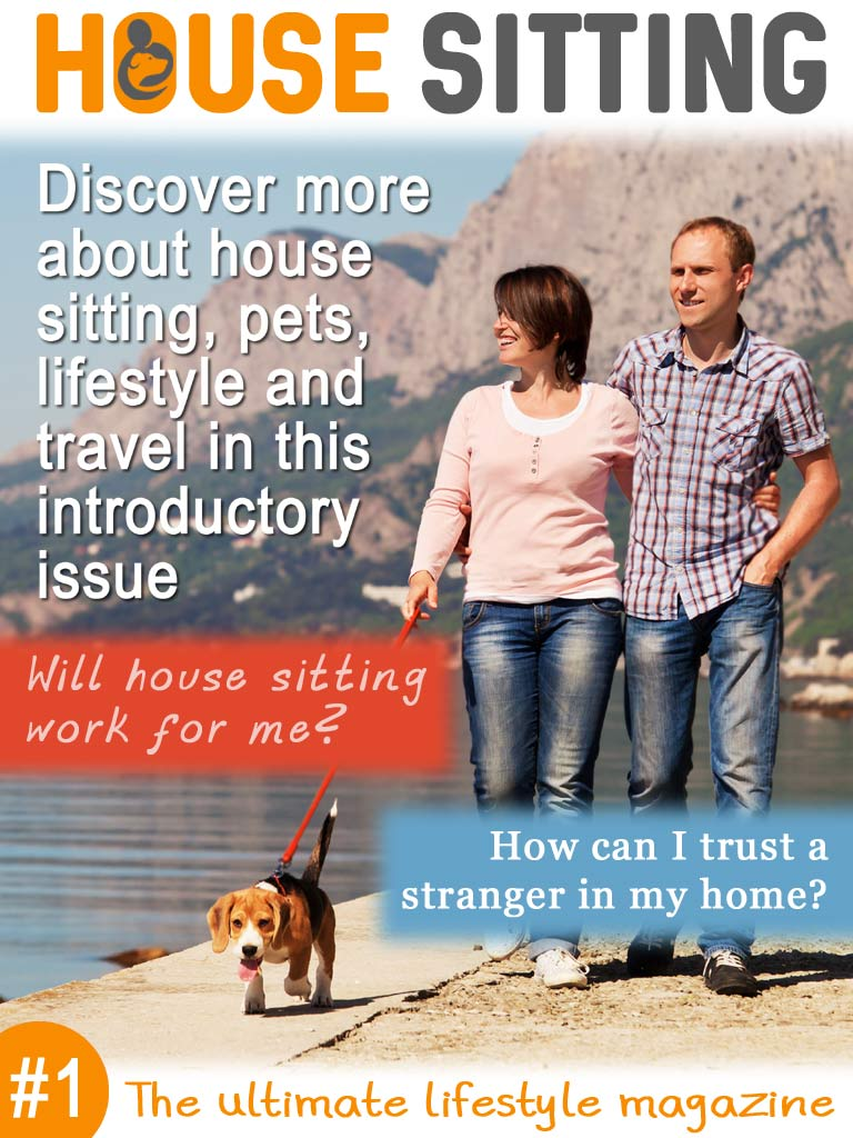 "Download Issue 1 of ""House Sitting Magazine"" – Ian Usher"