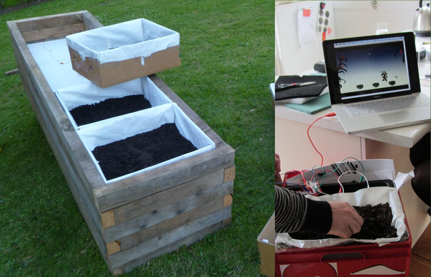 Plant The Seed build process - sensor box video test