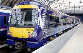 Photograph of Scotrail train