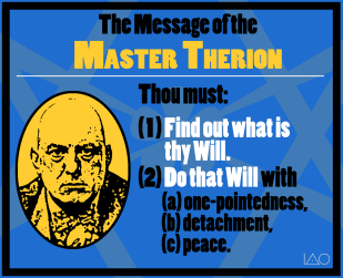The Message of the Master Therion (2013)