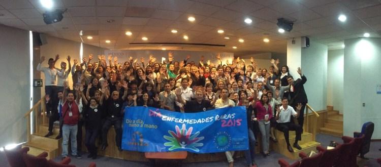 Inicio de las jornada de conmemoración del Día de las Enfermedades Raras 2015. Celebramos en el ISSSTE Buenavista junto con muchos otros...