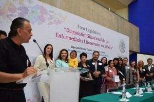 Celebración del Día de las Enfermedades Raras 2015 en la ciudad de México, Cámara de Diputados, foro legislativo