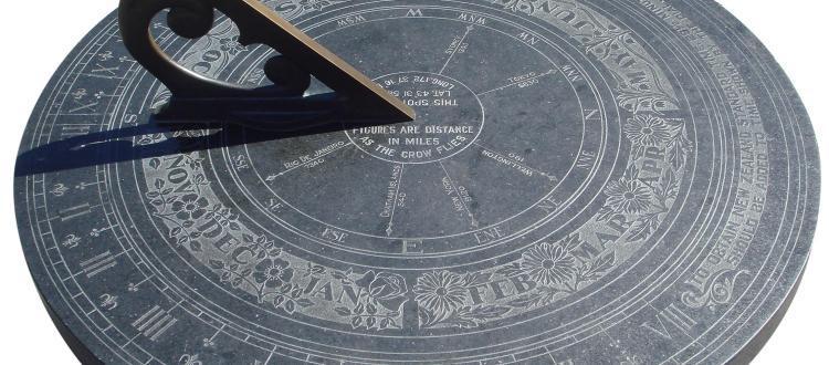 sundial, reloj de sol