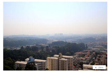 Vista do apartamento 201 - Torre Casablanca