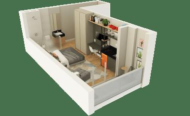 Planta 3D Studio - 1