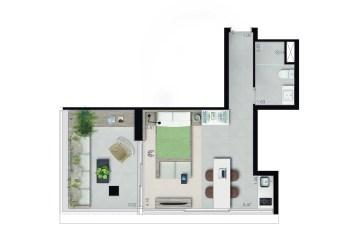 STUDIO LONGSTAY • 46M²