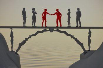bridge people community collaboration photo