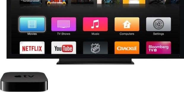 Продажи новой приставки Apple TV стартуют в октябре по цене 149$ или 199