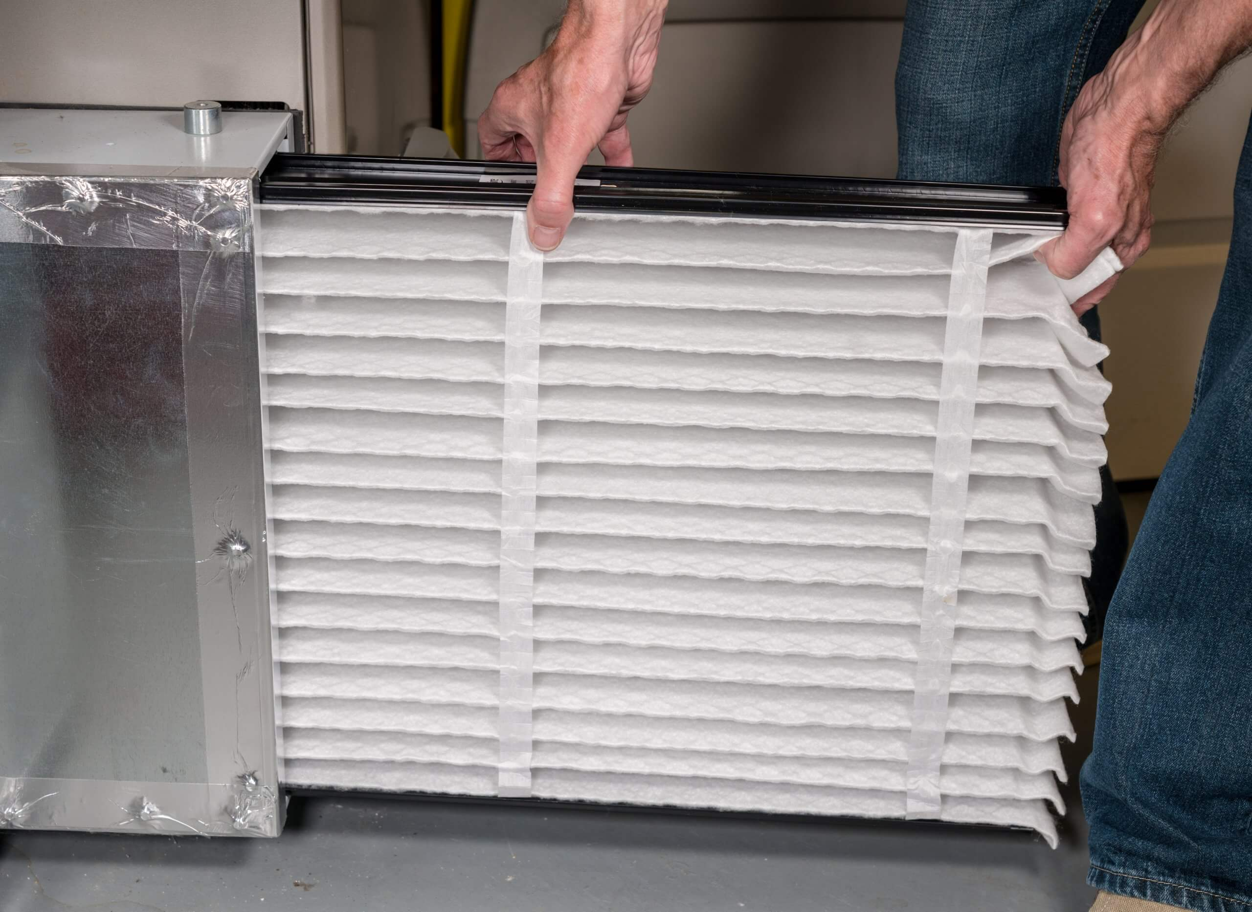 change home air filter