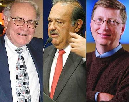 Buffet, Slim y Gates