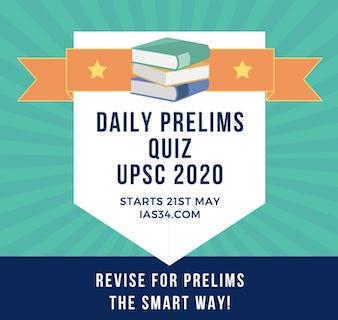 Daily UPSC 2020 Prelims Quiz