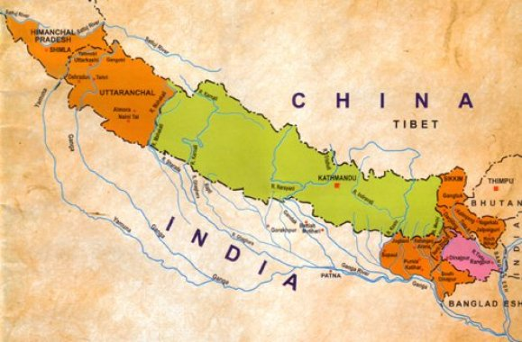 territories annexed from Nepal after Treaty of Sugauli by British India