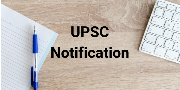 Check here for UPSC updates and IAS notification