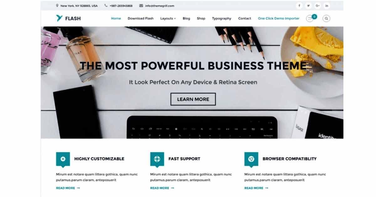 website design in wordpress