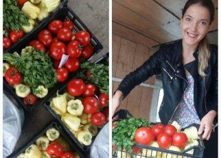 Coșuri cu legume proaspete livrate direct la domiciliu, o afacere inedită a unor tineri inimoși din Târgu Frumos