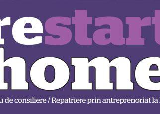 Proiectul RestartHome, pentru consilierea şi educaţia în antreprenoriat a românilor din diaspora, va fi lansat la Iași