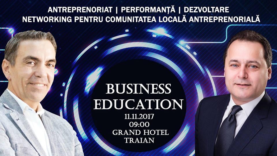 Oportunități de dezvoltare a afacerilor, la Conferința Business Education