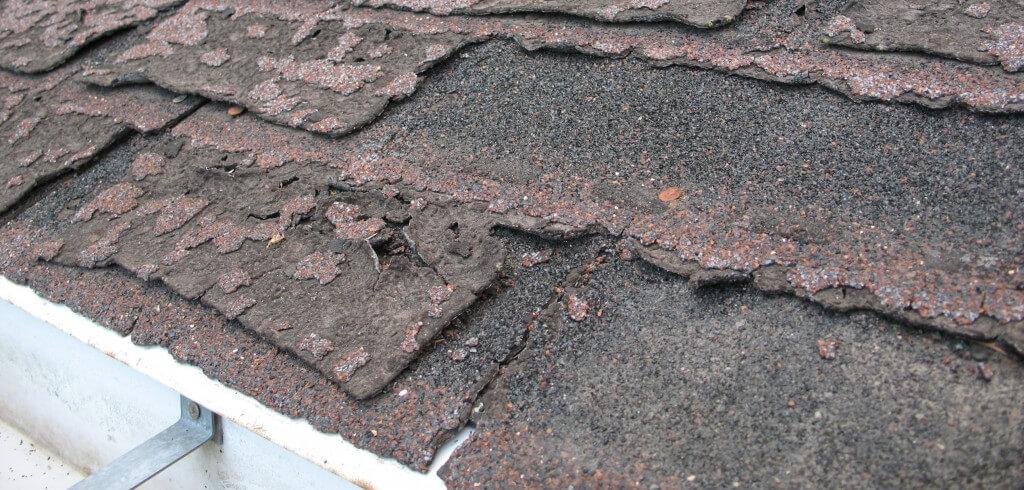 Granule Loss from hail damage.