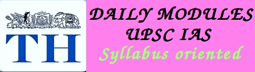 Daily current affairs for IAS upsc