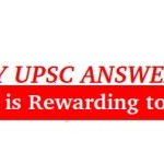 UPSC MAINS ANSWER WRITING CONTEST | IAS MASTER 2017