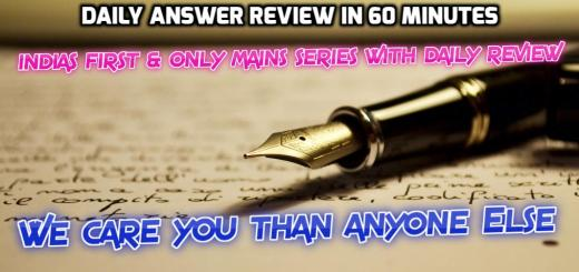mains answer review in 60 minutes