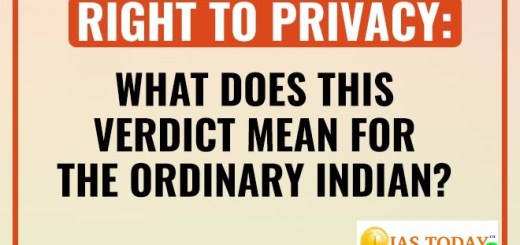 Right to privacy means