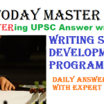 [MASTER 2018] UPSC DAILY ANSWER WRITING WITH REVIEW