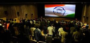 National anthem in theatre