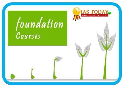 IASTODAY Foundation course