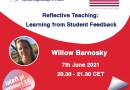 Reflective Teaching: Learning from Student Feedback – a webinar by Willow Barnosky