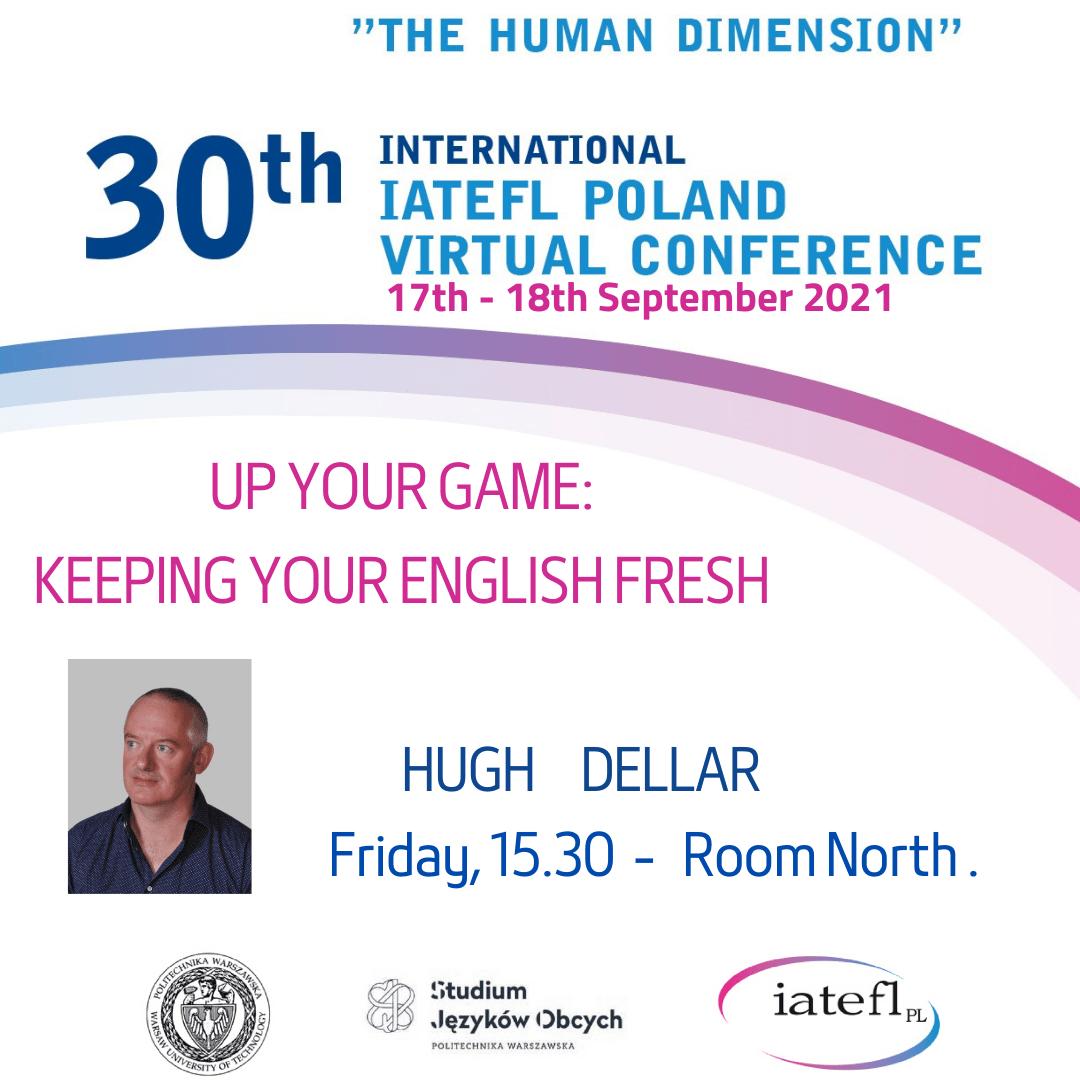 30th INTERNATIONAL IATEFL POLAND Virtual Conference – Hugh Dellar