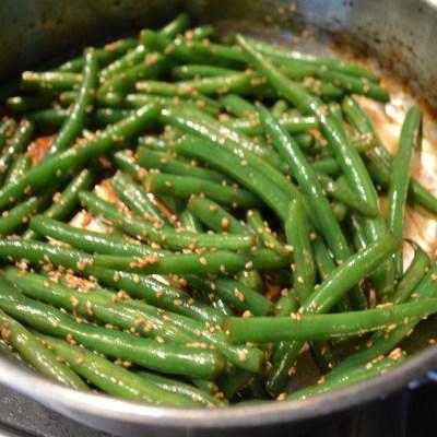 Soy-Ginger Green Beans