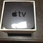 AppleTV買いました。