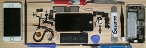 iPhone修理の流れのイメージ