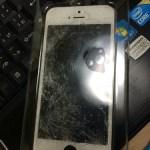 iPhone5sの画面修理です!